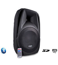 "Enceinte Amplifiee BT10A 10"" 25cm 250W USB/SD Bluetooth Ibiza"