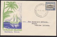 SAMOA TOKELAU 1947 first flight cover Apia to Atafu - scarce................4220