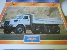 Super Trucks Baustellen LKW Schweden Volvo N10, Intercooler, 1986