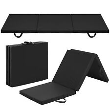 Best Choice Products 6' Tri-Fold Gym Mat - Black
