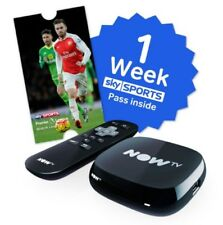 NOW TV Box Digital HD Media Streamer 1 Week free sports pass *BRAND NEW*