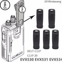 5x CLIP-20 Belt Clip For Vertex Standard EVX530 EVX531 EVX534 Portable Radio