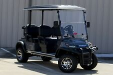 """NEW 2022 Charcoal / Gray 48V Electric Golf Cart 6"""" Lifted 4 Passenger Forward"""