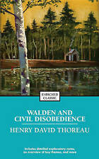 Walden and Civil Disobedience by Henry David Thoreau (Paperback, 2004)