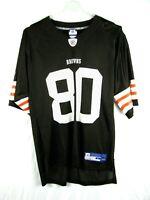 NFL Reebok Men's Cleveland Browns Kellen Winslow #80 NFL Football Jersey Size L