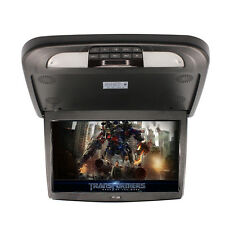 13.3 Inch Flip Down TFT LCD Monitor MP5 Player Black Car Roof Mount Monitors