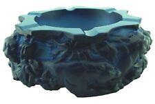 Aschenbecher in mattierten blauen Lithyalinglas, auch Lapislazuli-Glas - Ae 422