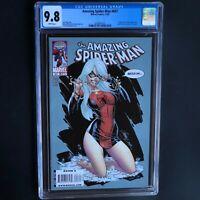 AMAZING SPIDER-MAN #607 (2009) 💥 CGC 9.8 💥 J. Scott Campbell Black Cat Cover!