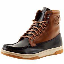 Diesel Men's Club Tatra Fashion Indigo/Brown Sneaker Boots Shoes Sz. 9