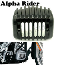 Black Voltage Regulator Cover For Softail Rocker FXCW 2008 2009 C FXCWC 2008-11