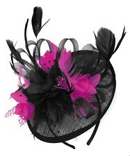 5ff45bc29ed3a Sinamay Wedding PINK Fascinators & Headpieces for Women for sale | eBay
