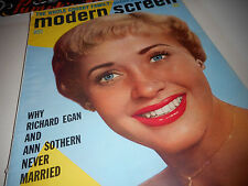 Jane Powell Covers Modern Screen Magazine June 1956 Ann Sothern