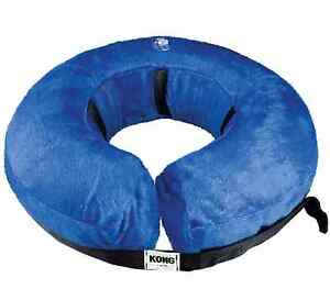 GENUINE KONG INFLATABLE CLOUD E COLLAR COMFORTABLE VELVETY COVER