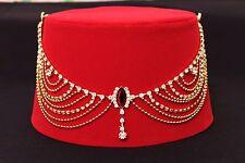 Genuine Fez Fes Authentic Turkish Ottoman Hat Tarboosh Ottoman Wear