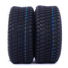 2 (TWO) 15x6.00-6 15x6.00x6 AIR-LOC  4PR Riding Lawn Mower Tbls Turf Tires