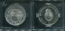 ARGENTINIEN 2013 - 5 Pesos in 999 Silber, PP - FIFA FUSSBALL WM BRASILIEN 2014