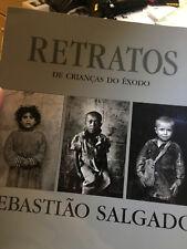 Retratos de Crianas do xodo-----book