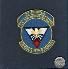"""Original 32nd ARS Instructor AIR REFUELING SQUADRON KC-135 KC-10 3 1/2"""" Patch"""