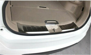 For Nissan Rogue Car Accessories Built-In Rear Bumper Foot Plate Guard Protector