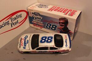 1999 Dale Jarrett Ford QC Service Credit White 1/24 Action BWB NASCAR Diecast