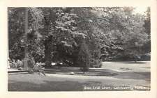 Letchworth Park New York Glen Iris Lawn Real Photo Antique Postcard K39396