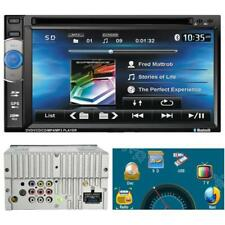 "6,2"" Double-2DIN In-Dash GPS Navi Bluetooth Autoradio DVD Player Stereo Radio DE"