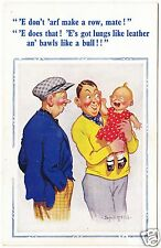 DONALD McGILL #1192 - Baby Has Lungs Like Leather / Bawls Like A Bull - c1950s