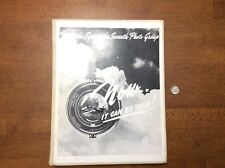 RARE BOOK WWII HISTORY SEVENTH PHOTO GROUP 8TH AIR FORCE P-38 LIGHTNINGS AAF
