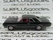 Auto World 1:64 LOOSE Collectible Black 1966 OLDSMOBILE OLDS 442 #2 Diorama Car