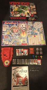 Horror House Board Game Vintage Classic Action GT Working 100% complete VGC