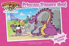 Princess Scavenger Hunt, treasure hunt, clues for kids K-5, Easy Great gift