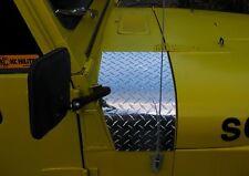 Jeep Diamond Plate Cowl Corner These fit CJ7 - YJ Wrangler & Scrambler Awesome!!