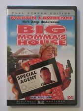 Big Momma's House DVD Martin Lawrence Undercover Special Agent Movie Film Comedy