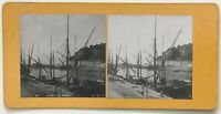 Nice Il Port Vela Foto P39L9n22 Stereo Stereoview Vintage Analogica