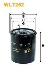 WIX FILTERS WL7252 OIL FILTER  PA516936C OE QUALITY