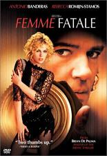 Femme Fatale DVD WideScreen Antonio Banderas Rebecca Romijn 2003 GOOD