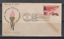 Philippine Stamps 1961 Phil. Amateur Athletic Federation (PAAF) Golden Jubilee