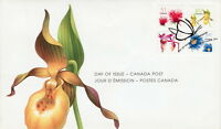 CANADA #2128-2131 FLOWER DEFINITIVES FIRST DAY COVER