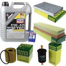 Inspection Kit Filter Liqui Moly Oil 5L 5W-40 for Peugeot 307 3A/C 1.4 16V