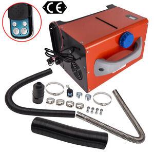 5KW-8KW 12V Calentador Diesel Air Heater LCD Remoto Control Truck Bus Motorhome