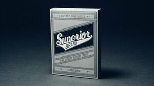 Superior (Black) Playing Cards Poker