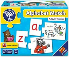 Vgc Orchard Toys Alphabet Match Jigsaw Puzzle - Educational Games