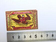 Etiquette Boite d'Allumette JAPON Aigle Old JAPAN Matchbox Label Eagle Matches