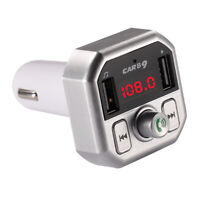 Car Bluetooth  USB Charger FM Transmitter Radio Adapter MP3 Player Quick Charge