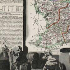 Le Calvados - - Géographie Département France - Carte ancienne 1849
