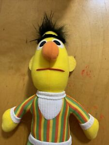 "VTg Bert Muppets Sesame Street 12"" Plush Stuffed Toy 72901 Playskool 1984 K12"