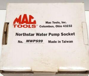 "Mac Tools MWPS99 1/2"" Drive Water Pump Socket Northstar Cadillac Oldsmobile"