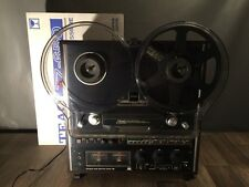 TEAC X-1000R 4 Track Reel to Reel Tape Recorder Deck & TZ-650 Cover & RE-100B
