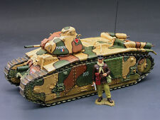 King & Country FOB010 French Char B1 Tank 2nd Version (RETIRED)