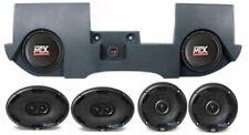 """Dual 10"""" MTX Subwoofers+Box+4) MTX Speakers For 2002-16 Dodge Ram Quad/Crew Cab"""
